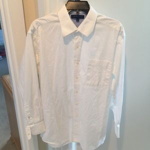 Tommy Hilfiger Mens Neck 16 white dress shirt